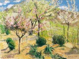 Boldizsár István - Tavasz a kertben