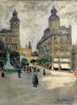 Színes Elemér - Klotild Paloták, 1912