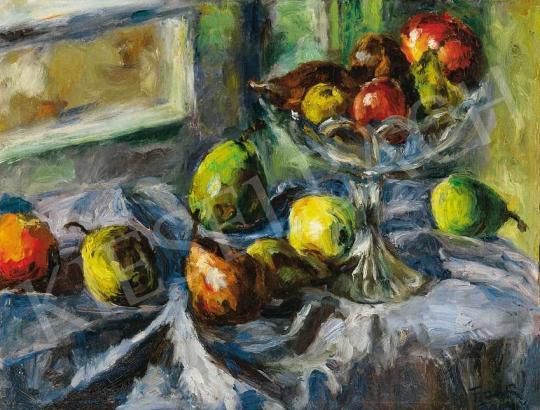 Frank Frigyes - Gyümölcscsendélet | 36. Aukció aukció / 21 tétel