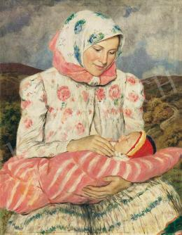 Glatz, Oszkár - Mother and Child, 1936
