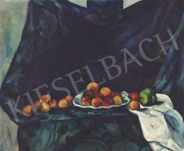 Perlrott Csaba Vilmos - Csendélet barackokkal és almával, 1914 (1914)