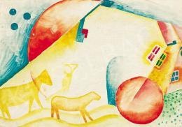 Kádár Béla - Holdtölte lovakkal