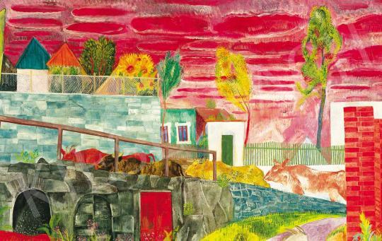 Paizs-Goebel Jenő - Szentendrei tájkép (Szamárhegy) | 36. Aukció aukció / 42 tétel
