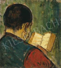 Nagy István - Olvasó (Ferenc öcsém olvas)