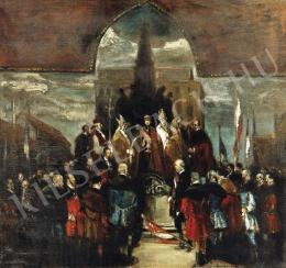 Rudnay, Gyula - The Coronation Ceremony of Charles Habsburg IV, 1917