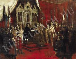 Rudnay Gyula - IV. Károly király koronázása III.