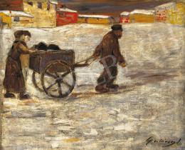 Gulácsy Lajos - Úton az egynapos hóban
