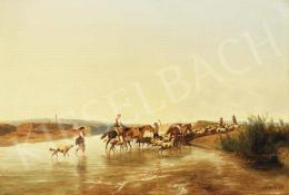 Markó, András - The Campagna in Italy, 1871