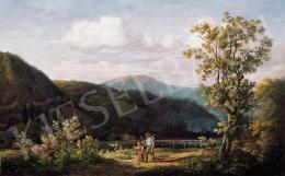 id. Markó Károly köre - Hazafelé (1860 körül)