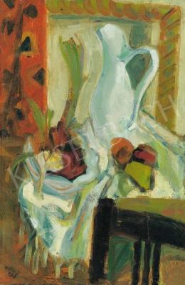 Hincz, Gyula - Still Life with White Jug, 1936