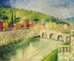 Peterdi Gábor - Róma, 1932