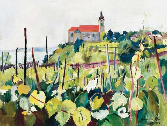 Bornemisza, Géza - View of Tihany, 1924   36th Auction auction / 129 Item