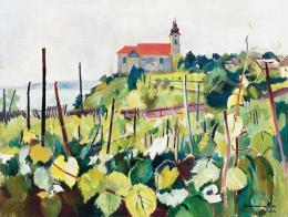 Bornemisza, Géza - View of Tihany, 1924