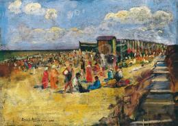 Basch Andor - Tengerparton, 1922