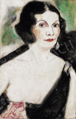 Frank, Frigyes - Lady in Evening Dress