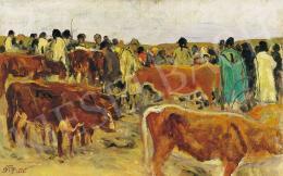 Körösfői Kriesch Aladár - Vásár, 1917