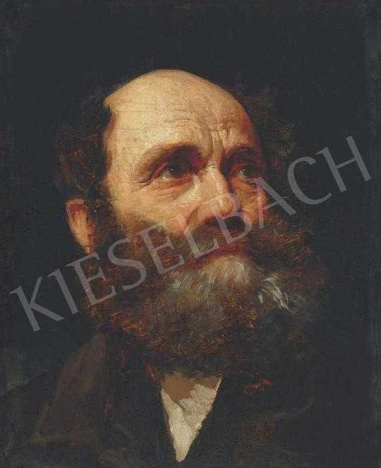 Benczúr, Gyula - Head of a Man | 36th Auction auction / 199 Item