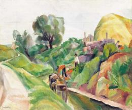 Szobotka, Imre - By the Brook, about 1920