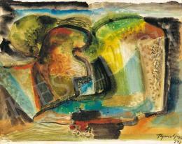 Bene, Géza - Landscape, 1947