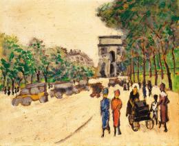 Bálint, Rezső - Boulevard in Paris