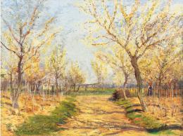 Ujváry Ignác - Tavaszi kert (1910)