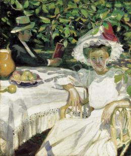 Csuk Jenő - Délutáni pihenés (1910)