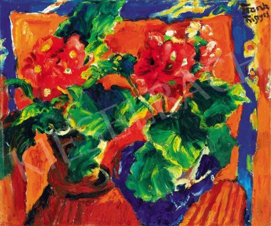 Frank Frigyes - Virágcsendélet | 37. Aukció aukció / 16 tétel