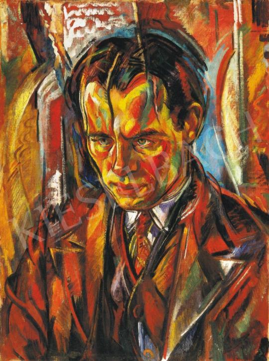 Vén Emil - Férfiporté (Pákozdy Ferenc portréja)   37. Aukció aukció / 17 tétel