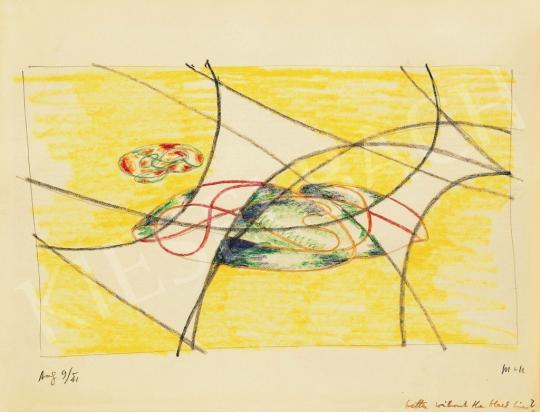 Moholy-Nagy László - Kompozíció, 1941 | 37. Aukció aukció / 26 tétel