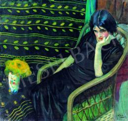 Kiss, Rezső - Lady in interieur