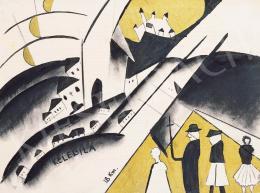 Bernáth, Aurél - Villages. Graphik-portfolio, 1920 -1922