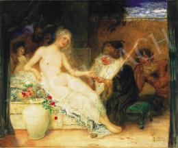 Veith, Eduard - Young beauty and the fortune teller, 1920