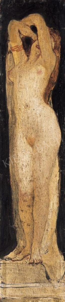 Lotz Károly - Akt