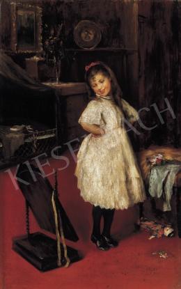 Halmi Artúr - Kislány tükör előtt