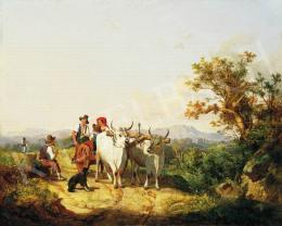 Markó, András - Italian landscape, 1860