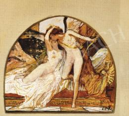 Lotz, Károly - Amor and Psyche