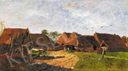 Paál László - Táj házakkal