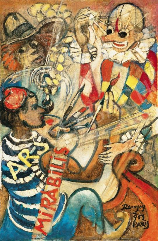 Remsey Jenő György - Párizs (Ars mirabilis), 1959 | 37. Aukció aukció / 84 tétel