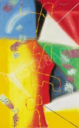 Lossonczy Tamás - Színes kép (Kompozíció), 1969