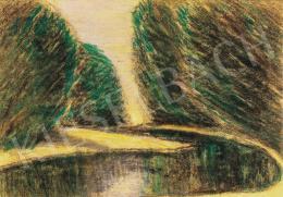 Nagy István - Folyóparti fák