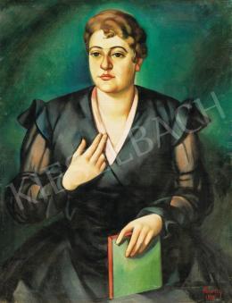 Kmetty János - Női portré, 1916