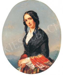Barabás Miklós - Olasz lány