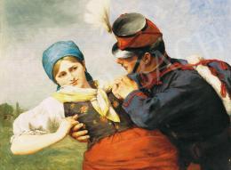 Greguss, Imre - Courtship, 1888