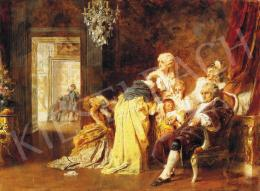 Benczúr Gyula - XVI.Lajos és családja Versailles ostromakor