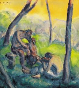 Derkovits Gyula - Koncert, 1924