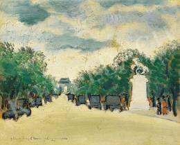 Bálint Rezső - A párizsi Champs-Elysées