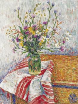 Czimra Gyula - Van Gogh-os csendélet