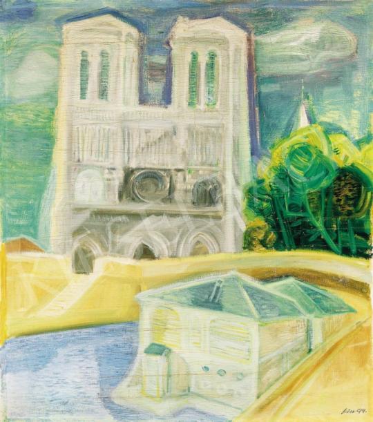 Szín György - A párizsi Notre Dame | 37. Aukció aukció / 225 tétel
