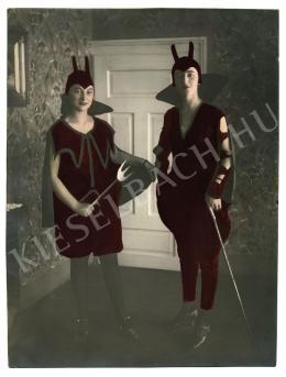 Ismeretlen fotós - Két ördög, 1926 körül