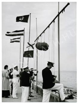 Szendrő István - Balatoni móló, 1940-es évek eleje